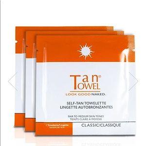 TAN AT HOME! TanTowel® Body Tan Towelette